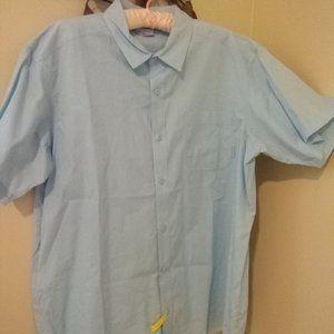 Columbia Button Down Short Sleeve Shirt Men's XL